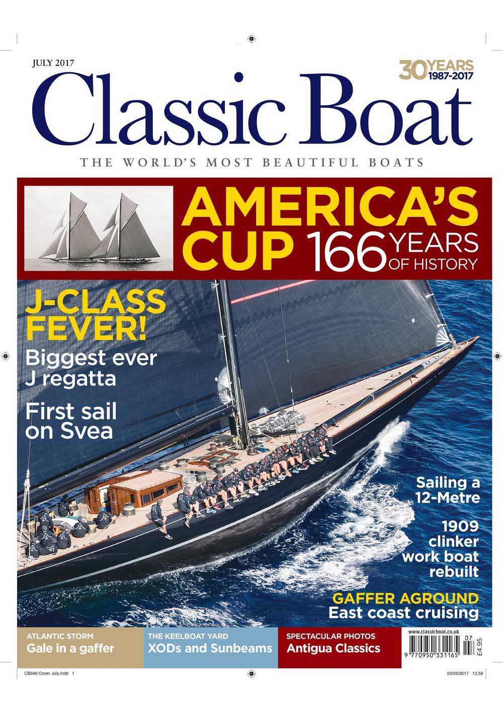 "Interview ""Classic Boat"""